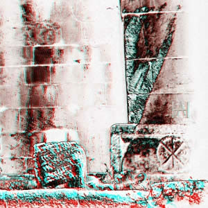 3D-Fotografie in Rot/Cyan - Synthese